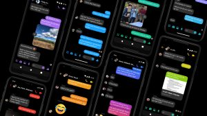 Facebook Messanger Dark Mode