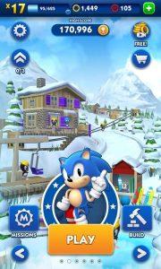Sonic Dash mod apk unlimited money