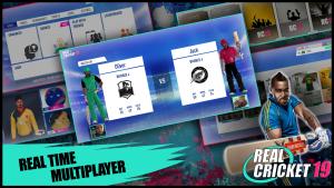 Real Cricket 19 mod apk unlimited cash