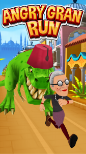 Angry Gran Run Mod Apk