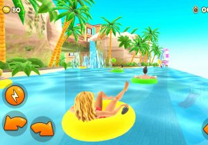 Uphill Rush Water Park Racing apk mod