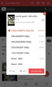 vidmate apk to download