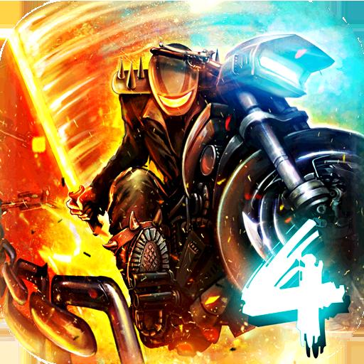 Death Moto 4 Mod Apk