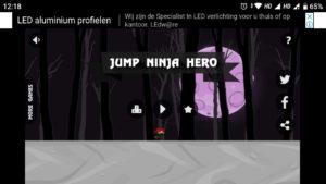 Ninja Run Jump Hero apk