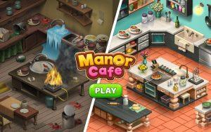manor cafe mod apk Download