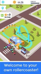 Idle Roller Coaster Mod Apk Download