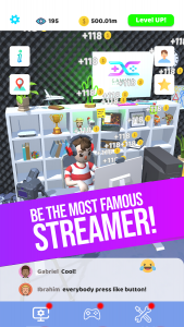 Idle Streamer apk Mod