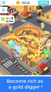 Idle Roller Coaster apk mod