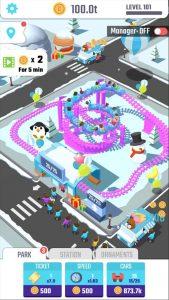 Idle Roller Coaster Mod Apk