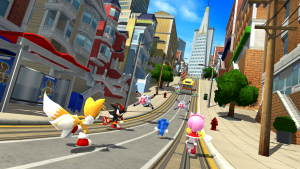 Sonic Forces Mod Apk unlimited money
