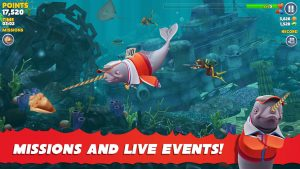 hungry shark evolution mod apk unlimited money and gems download