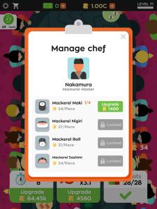 Sushi Bar Mod Apk